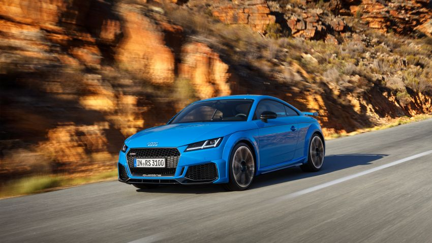 2019 Audi TT RS facelift – new look, no extra power Image #919924