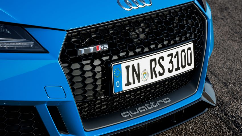 2019 Audi TT RS facelift – new look, no extra power Image #919925