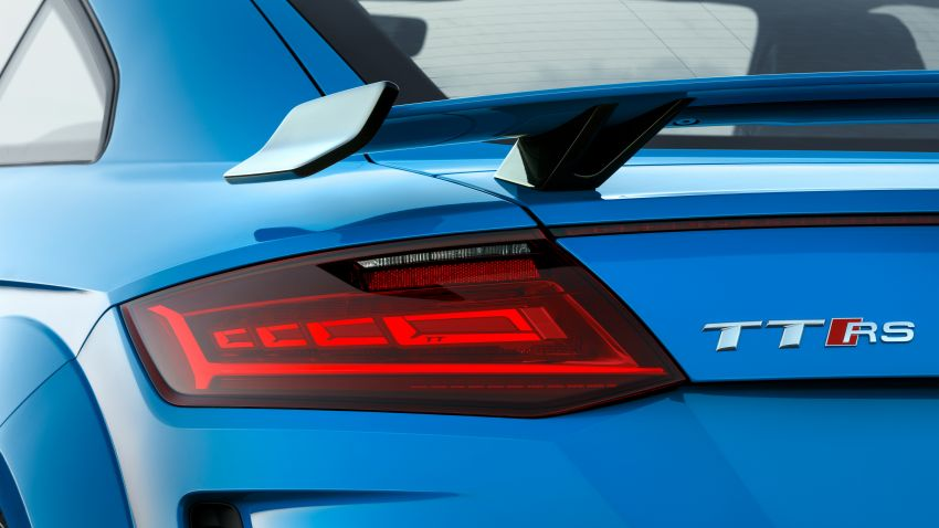 2019 Audi TT RS facelift – new look, no extra power Image #919927