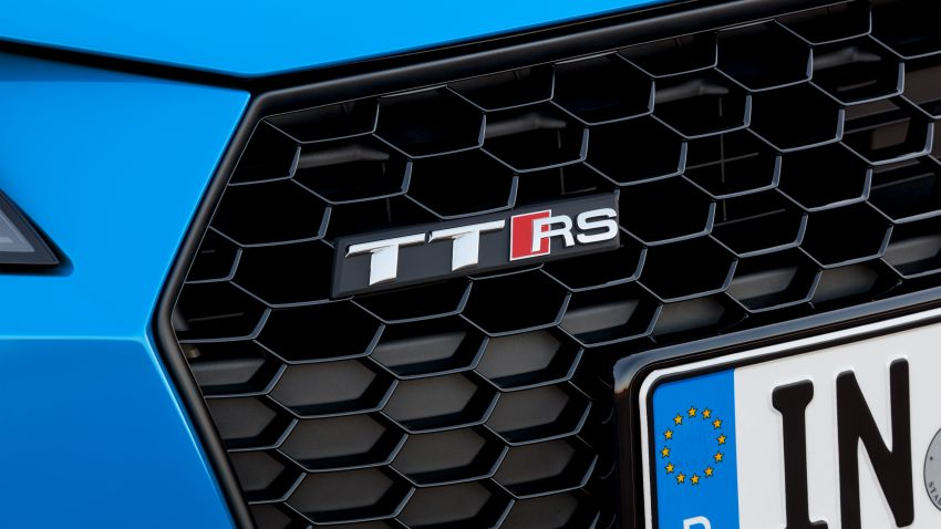 2019 Audi TT RS facelift – new look, no extra power Image #919929
