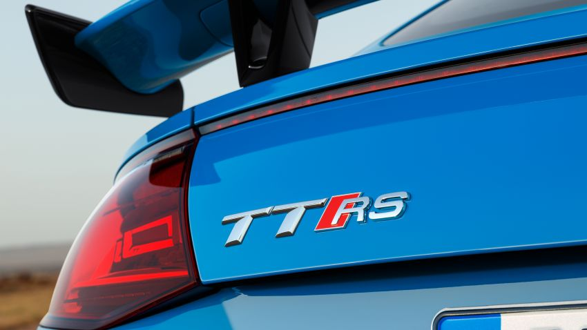 2019 Audi TT RS facelift – new look, no extra power Image #919930