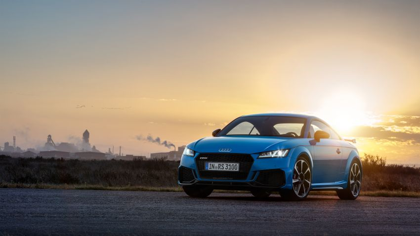 2019 Audi TT RS facelift – new look, no extra power Image #919932