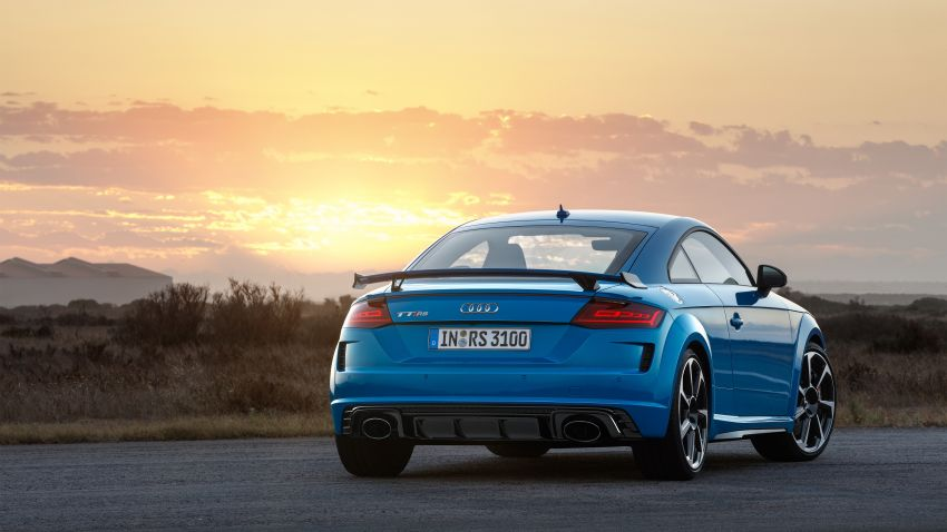 2019 Audi TT RS facelift – new look, no extra power Image #919933