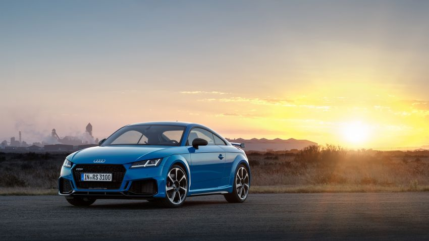 2019 Audi TT RS facelift – new look, no extra power Image #919935