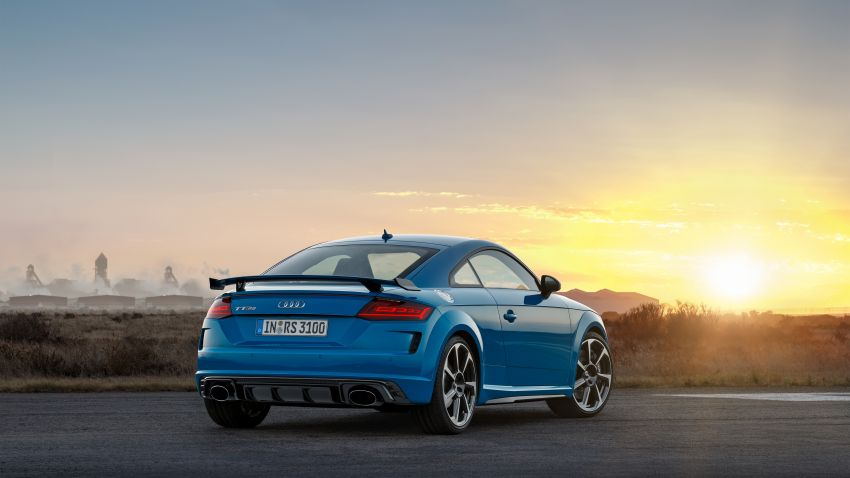 2019 Audi TT RS facelift – new look, no extra power Image #919936