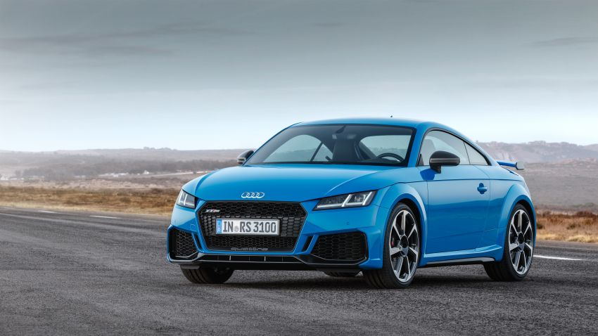 2019 Audi TT RS facelift – new look, no extra power Image #919937