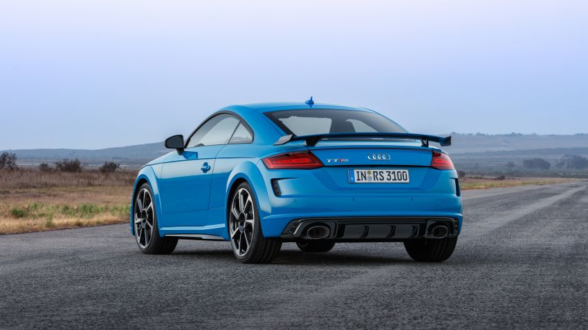 2019 Audi TT RS facelift – new look, no extra power Image #919938