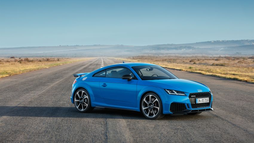 2019 Audi TT RS facelift – new look, no extra power Image #919939