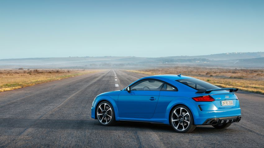 2019 Audi TT RS facelift – new look, no extra power Image #919940