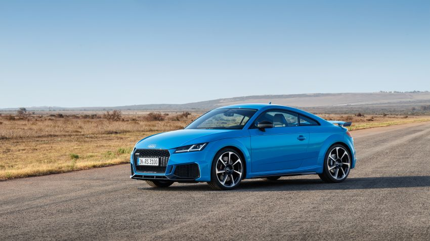 2019 Audi TT RS facelift – new look, no extra power Image #919941