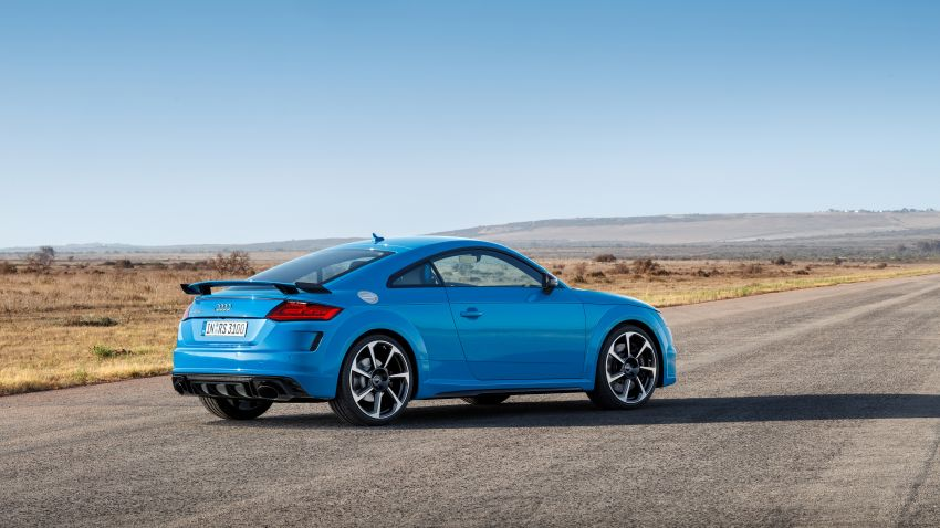 2019 Audi TT RS facelift – new look, no extra power Image #919942
