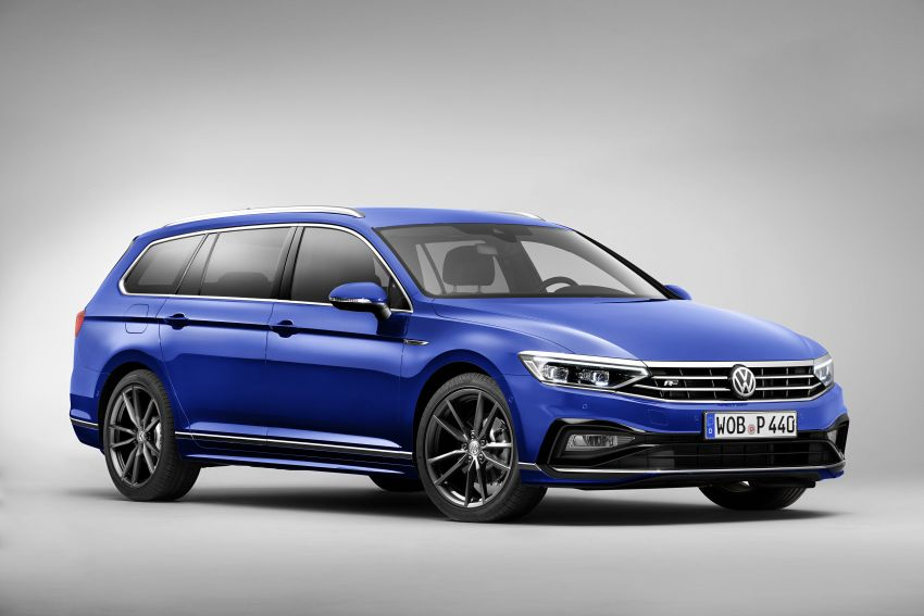 B8 Volkswagen Passat facelift revealed – new MIB3 infotainment and IQ.Drive assistance systems Image #919062