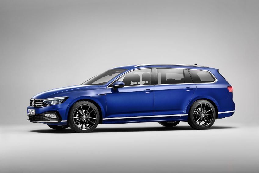 B8 Volkswagen Passat facelift revealed – new MIB3 infotainment and IQ.Drive assistance systems Image #919065