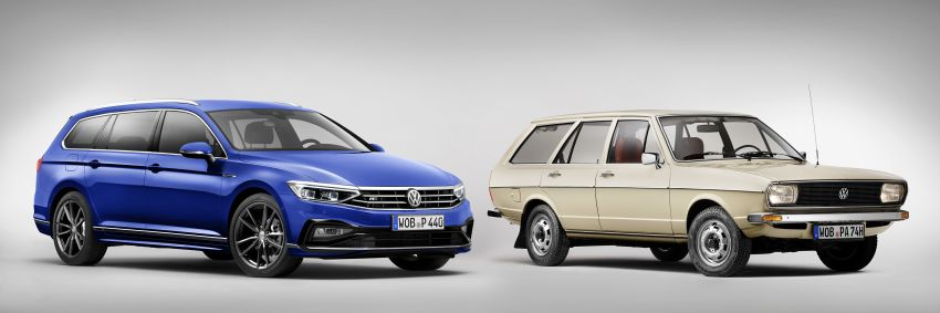 B8 Volkswagen Passat facelift revealed – new MIB3 infotainment and IQ.Drive assistance systems Image #919093