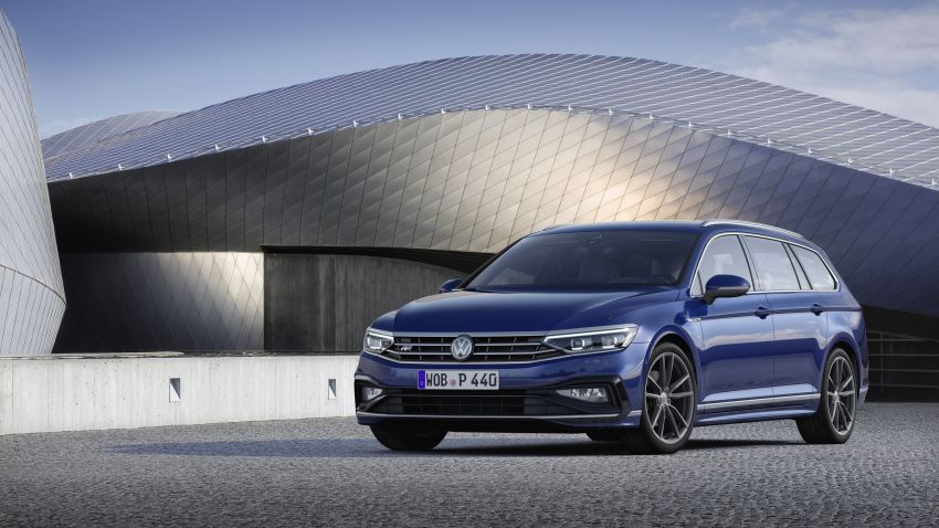 B8 Volkswagen Passat facelift revealed – new MIB3 infotainment and IQ.Drive assistance systems Image #919096