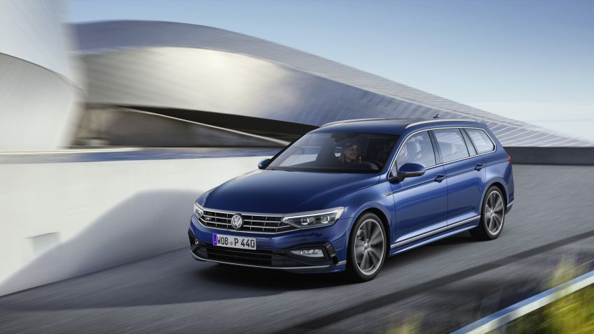 B8 Volkswagen Passat facelift revealed – new MIB3 infotainment and IQ.Drive assistance systems Image #919097