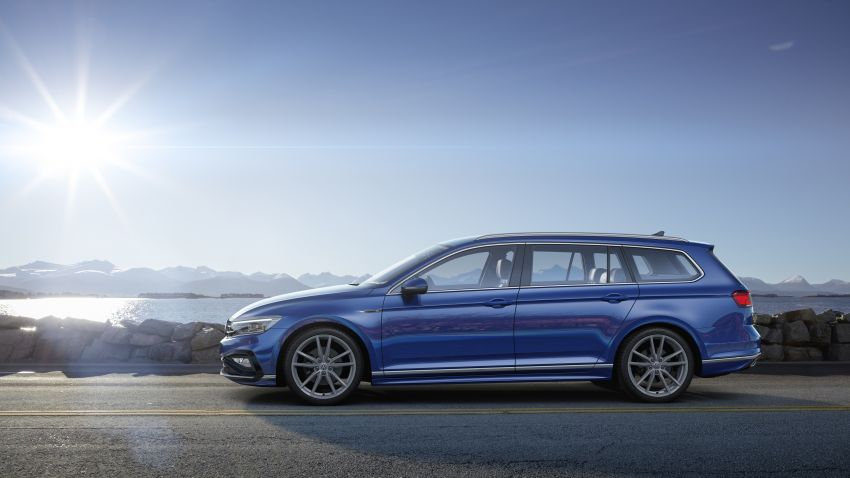 B8 Volkswagen Passat facelift revealed – new MIB3 infotainment and IQ.Drive assistance systems Image #919099
