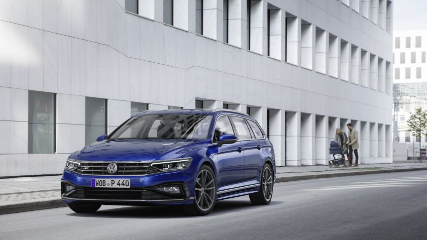 B8 Volkswagen Passat facelift revealed – new MIB3 infotainment and IQ.Drive assistance systems Image #919100