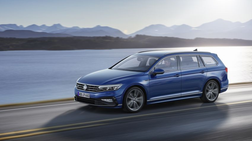 B8 Volkswagen Passat facelift revealed – new MIB3 infotainment and IQ.Drive assistance systems Image #919102