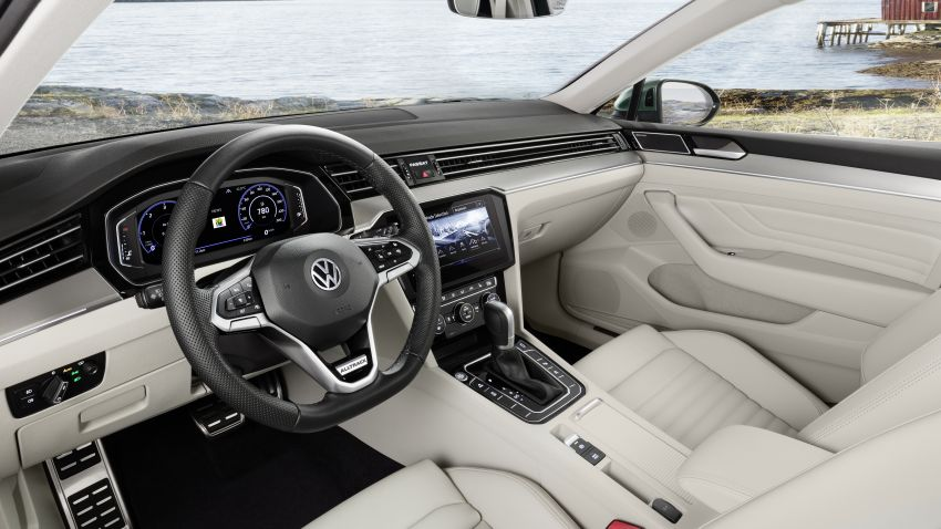 B8 Volkswagen Passat facelift revealed – new MIB3 infotainment and IQ.Drive assistance systems Image #919119