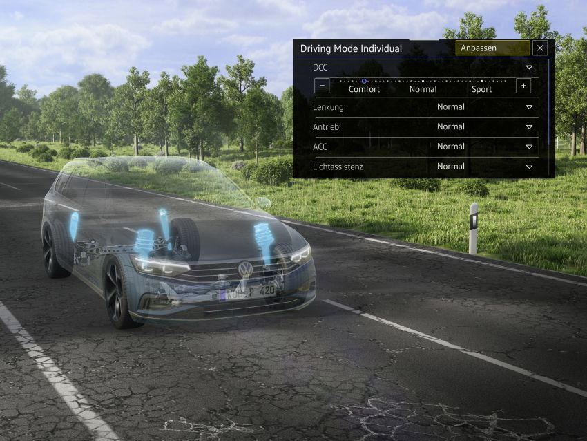 B8 Volkswagen Passat facelift revealed – new MIB3 infotainment and IQ.Drive assistance systems Image #919182