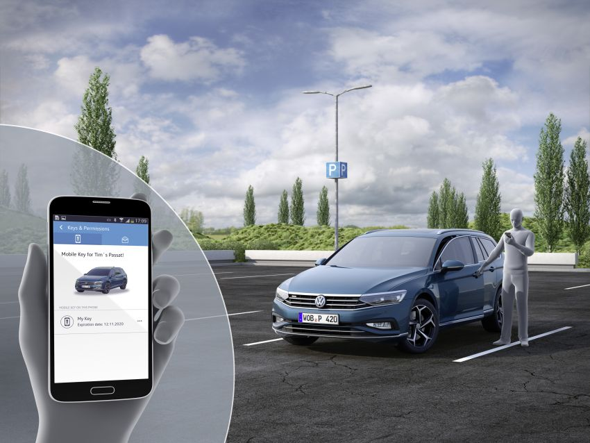 B8 Volkswagen Passat facelift revealed – new MIB3 infotainment and IQ.Drive assistance systems Image #919188