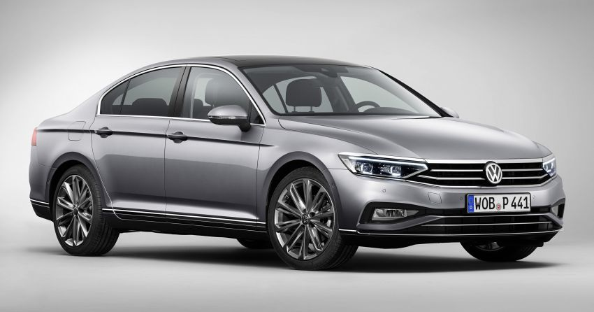 B8 Volkswagen Passat facelift revealed – new MIB3 infotainment and IQ.Drive assistance systems Image #919070