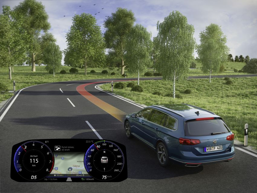 B8 Volkswagen Passat facelift revealed – new MIB3 infotainment and IQ.Drive assistance systems Image #919191