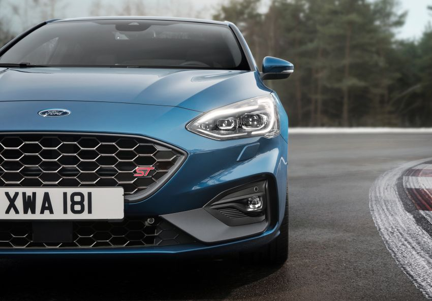 Ford Focus St >> 2019 Ford Focus ST Mk4 debuts – 276 hp and 430 Nm 2.3 litre turbo, 6-sp manual or 7-sp auto ...