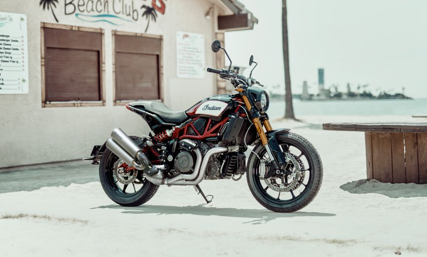 2019 Indian FTR 1200 S Race Replica now comes with Akrapovic exhaust and limited edition paint Image #920278