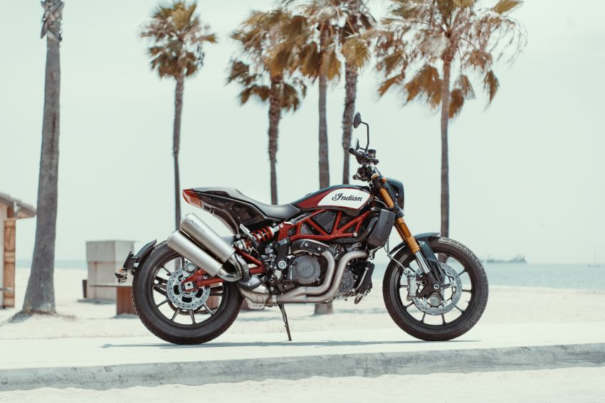 2019 Indian FTR 1200 S Race Replica now comes with Akrapovic exhaust and limited edition paint Image #920284
