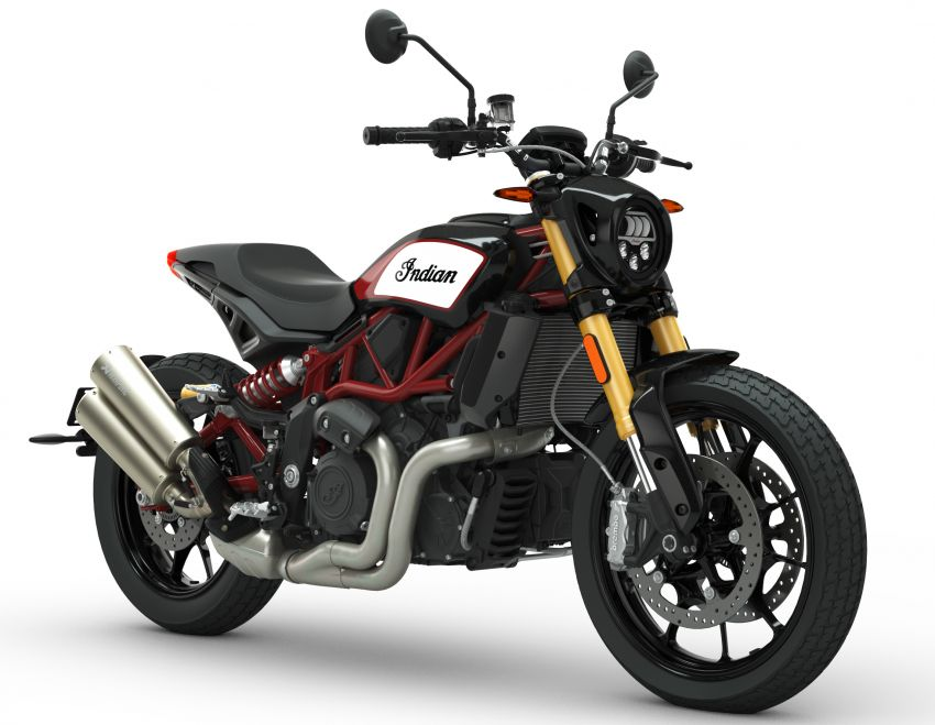 2019 Indian FTR 1200 S Race Replica now comes with Akrapovic exhaust and limited edition paint Image #920285