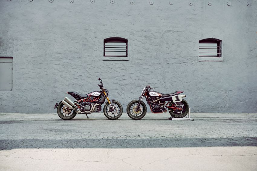 2019 Indian FTR 1200 S Race Replica now comes with Akrapovic exhaust and limited edition paint Image #920271