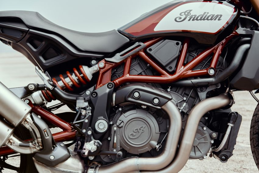 2019 Indian FTR 1200 S Race Replica now comes with Akrapovic exhaust and limited edition paint Image #920272