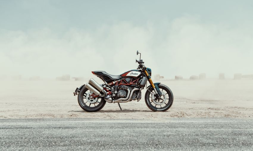2019 Indian FTR 1200 S Race Replica now comes with Akrapovic exhaust and limited edition paint Image #920273