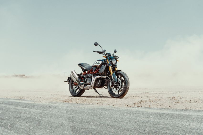 2019 Indian FTR 1200 S Race Replica now comes with Akrapovic exhaust and limited edition paint Image #920275