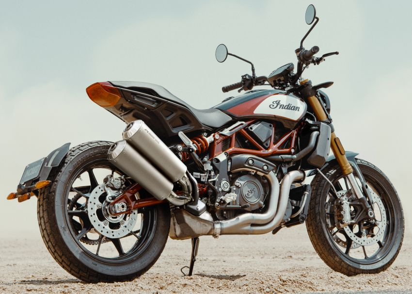 2019 Indian FTR 1200 S Race Replica now comes with Akrapovic exhaust and limited edition paint Image #920276