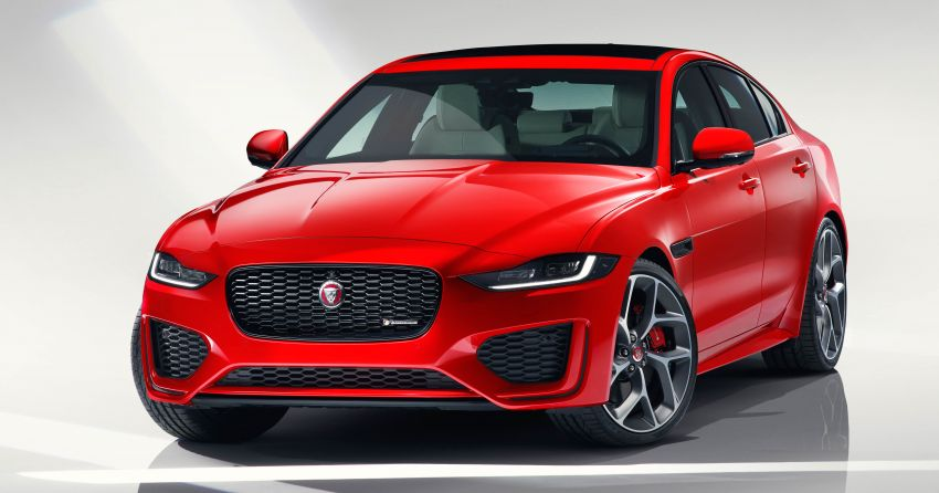 Jaguar XE facelift unveiled with updated styling, tech Image #927283