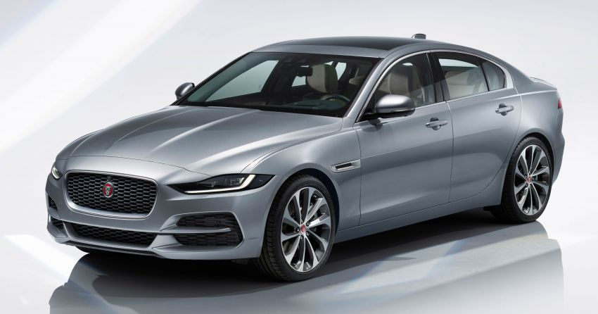 Jaguar XE facelift unveiled with updated styling, tech Image #927294