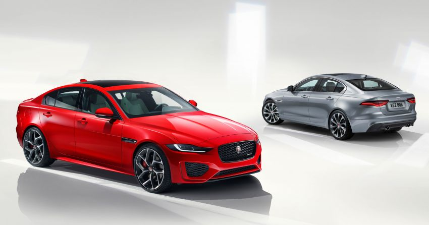 Jaguar XE facelift unveiled with updated styling, tech Image #927298