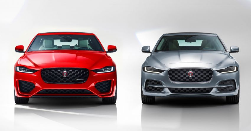 Jaguar XE facelift unveiled with updated styling, tech Image #927299