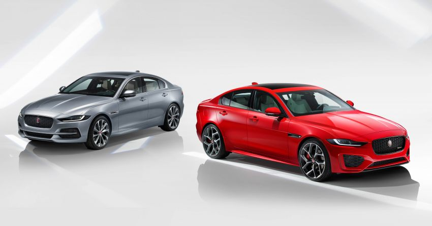 Jaguar XE facelift unveiled with updated styling, tech Image #927300