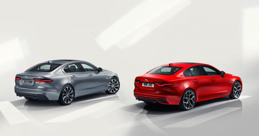 Jaguar XE facelift unveiled with updated styling, tech Image #927301