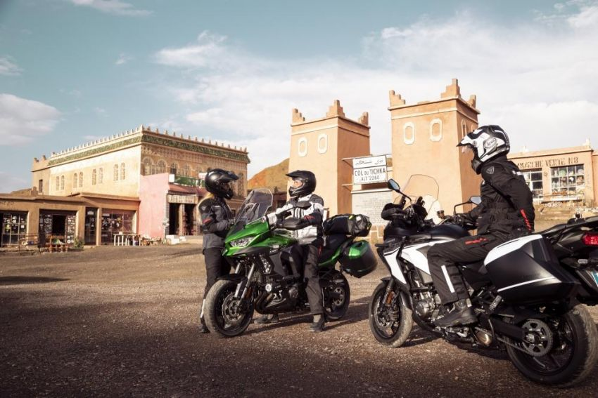 2019 Kawasaki Versys 1000 now available in Europe Image #920535