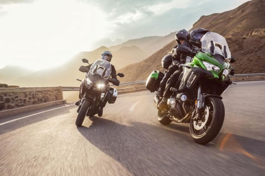 2019 Kawasaki Versys 1000 now available in Europe Image #920536
