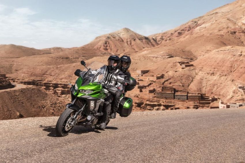 2019 Kawasaki Versys 1000 now available in Europe Image #920540