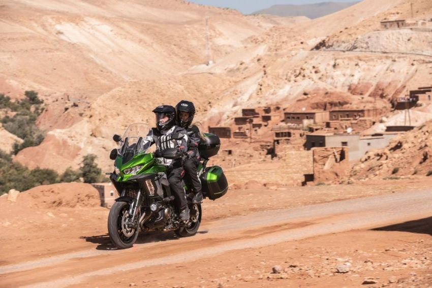 2019 Kawasaki Versys 1000 now available in Europe Image #920542