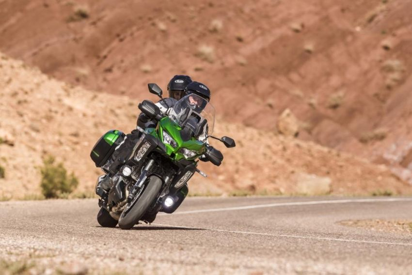 2019 Kawasaki Versys 1000 now available in Europe Image #920543