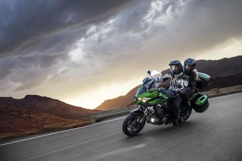 2019 Kawasaki Versys 1000 now available in Europe Image #920544