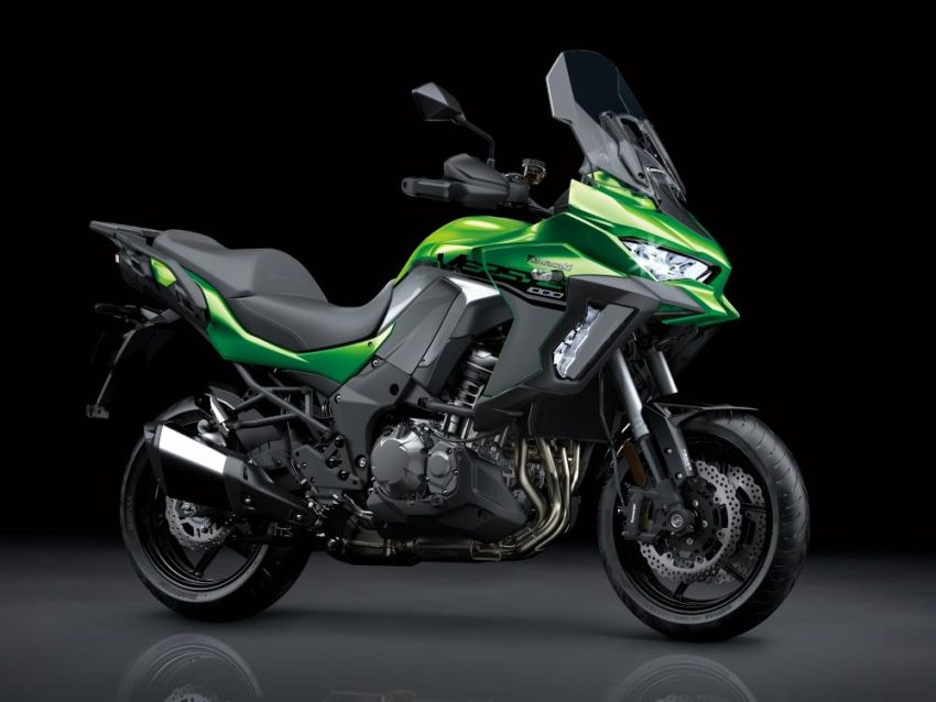 2019 Kawasaki Versys 1000 now available in Europe Image #920545